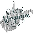 West Virginia State Typography by surgedesigns