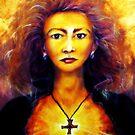 Celtic Fire Goddess by Kaye Bel -Cher