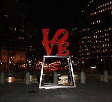 love park and ice skating  by JRicca