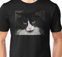 Black and White Tuxedo Cat Unisex T-Shirt