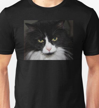 Black and White Tuxedo Cat Unisex T-Shirt