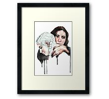 Hold on to this Lullaby Framed Print