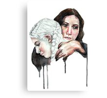 Hold on to this Lullaby Canvas Print