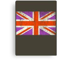 Punk Union Jack Flag Canvas Print