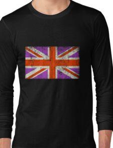 Punk Union Jack Flag Long Sleeve T-Shirt