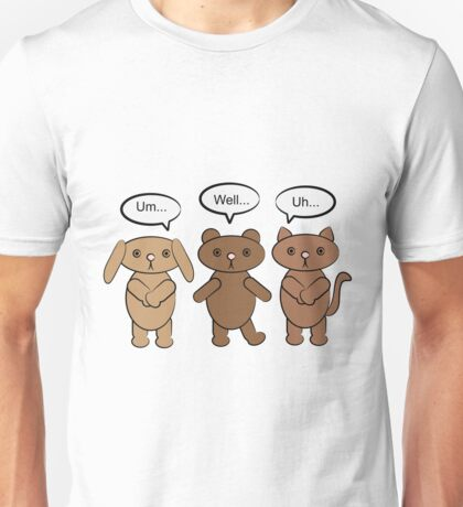 What To Say Animals Unisex T-Shirt