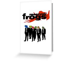 Reservoir Frogs Greeting Card