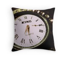 Correct Time Twice Daily Throw Pillow