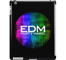 EDM PARTY HARD (COLOURS) iPad Case/Skin