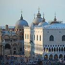 St Mark's Domes, Venice by inglesina