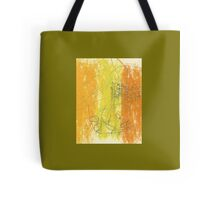 Abstract Art With Scribbles And Flourishes Tote Bag
