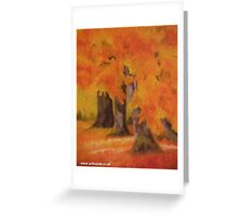 Autumnal Bliss Greeting Card