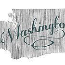Washington State Typography by surgedesigns