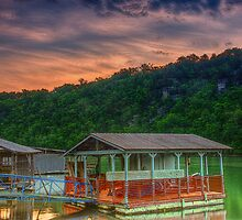 Boat Docks by Herb Spickard