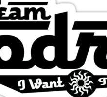 Team Godric (Black) Sticker