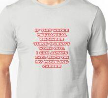 Funny Mechanical Engineer ... Modeling Career Unisex T-Shirt