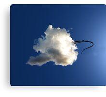 Dragon Hiding in a Cloud Canvas Print