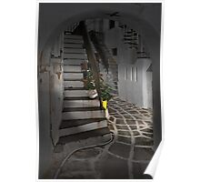 Two Staircases and an Alley Poster