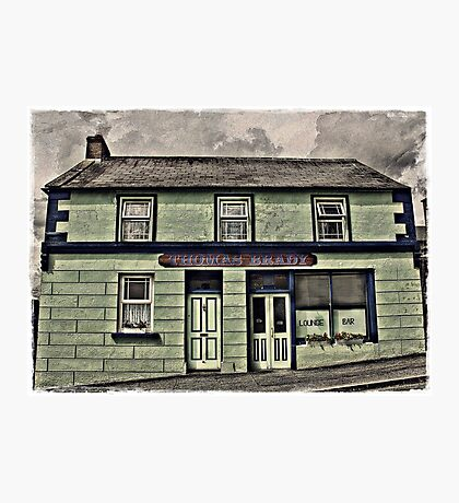 Brady's Bar Photographic Print