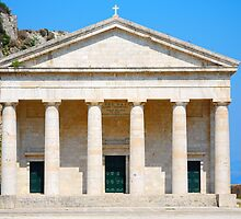 St George's Church at the Palaio Frourio, Corfu by inglesina