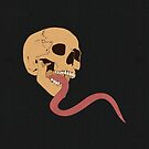 Skull Tongue [Original] (Other Colours Available) by Styl0