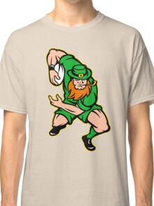 Irish leprechaun rugby player Ireland Classic T-Shirt