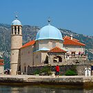 Our Lady of the Rock, Perast, Montenegro by inglesina