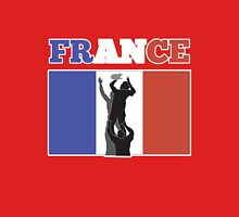 rugby player line out ball France Unisex T-Shirt