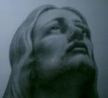 jesus in no#2 pencil on normal blank copy paper by michaelburns777