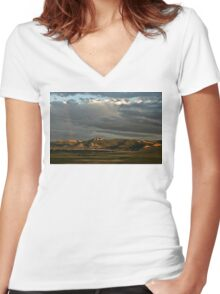 Helena Valley Women's Fitted V-Neck T-Shirt