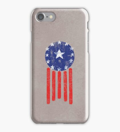 Old World American Flag iPhone Case/Skin