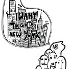 I Want To Go To NYC by Richard Butler