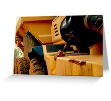 HEAVY DUTY construction -1 Greeting Card