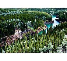 Yukon River Gorge Photographic Print