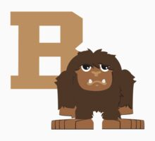 B is for bigfoot Kids Clothes