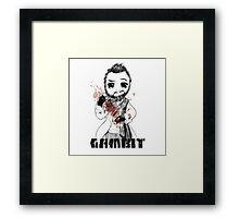 Gambit Framed Print