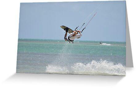 Flying High on the Ocean by Billboeing