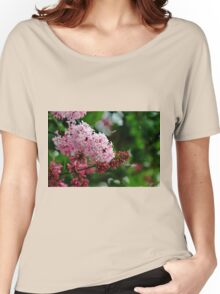 Showy Pink Lilacs Women's Relaxed Fit T-Shirt