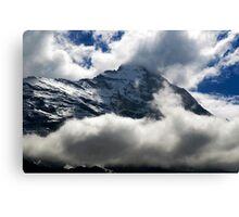 Eiger Nordwand Canvas Print