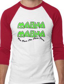 Mahna Mahna Men's Baseball ¾ T-Shirt
