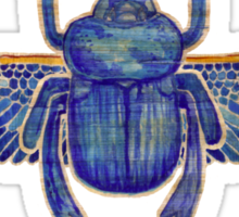 Egyptian Heart: Scarab (Imperial) Sticker