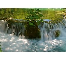 Small Waterfall Photographic Print