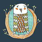 Tree Owl by fixtape