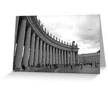 Vatican Courtyard Greeting Card
