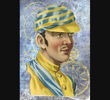 Victorian Horse Jockey Yellow Blue Racing Silks Unisex T-Shirt