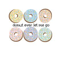 donut ever let me go Photographic Print
