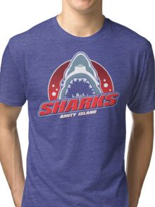 We're gonna need a bigger...STADIUM?! Tri-blend T-Shirt