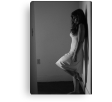 Beautifully Mysterious Self-Abandoned Potraiture, Self-1 Canvas Print