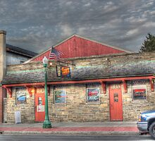 The Tavern on S. Main St in Cortland, NY by Edith Reynolds