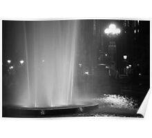 Summer Night In Washington Square Park Poster